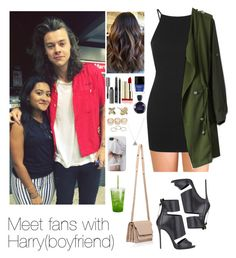 """""""Meet fans with Harry"""" by myllenna-malik ❤ liked on Polyvore featuring мода, Forever 21, Topshop, Chicwish, Giuseppe Zanotti, Wet Seal, Alexis Bittar, Butter London, Bobbi Brown Cosmetics и Lacoste"""