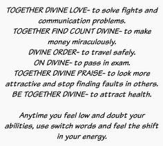 TOGETHER DIVINE