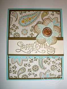 Birthday card for my friend- Spice Cake