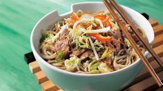 Miso soup with noodles Gourmet Recipes, Cooking Recipes, Healthy Recipes, Risotto Rice, Soba Noodles, How To Cook Rice, Miso Soup, Noodle Recipes, Noodle Soup