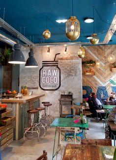 Simple Low Budget Cafe Interior Design