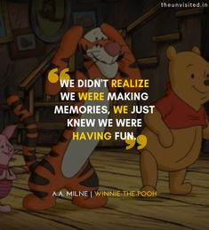 Everybody, especially those who grew up in the is familiar with the cute, yellow bear which dropped wisdom-bombs in the simplest of ways Live Your Life, New Life, Change Your Life, Farewell Quotes For Friends, Best Friend Quotes, College Farewell Quotes, Up Quotes, Funny Quotes, Cartoon Quotes