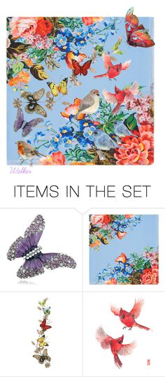 """Beautiful Butterfly"" by walkerwalker ❤ liked on Polyvore featuring art"