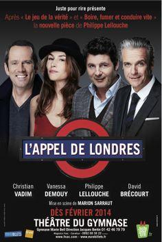 L'appel de Londres - Théâtre du gymnase - Du 06/02/2014 au 31/05/2014