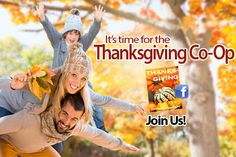 Our Thanksgiving Co-op on Facebook begins today! Join us!