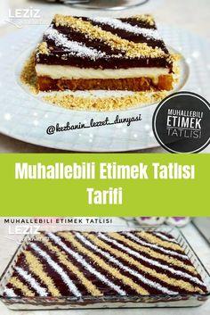 Muhallebili Etimek Tatlısı Tarifi Pudding Desserts, Custard Desserts, Sully Cake, Dinner Recipes, Dessert Recipes, Easy Eat, Vegan Vegetarian, Vegetarian Breakfast, Breakfast Toast