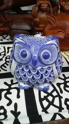 Pretty blue owl