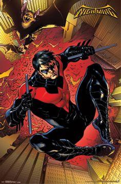 Nightwing Comic Poster