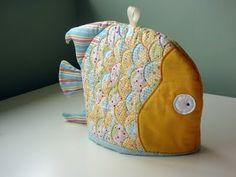 fish tea cosy