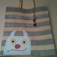 My newest creation 'The Little Monster Bag'