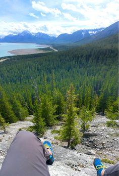 Abraham lake Alberta Canada [OC][640x1136]