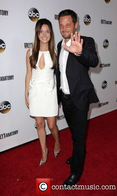 200th ep party pic 16 Camilla Luddington and Justin Chambers