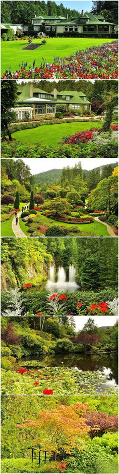 Canada's private estate · Butchart Gardens in  Victoria BC Worth the time to see when there!