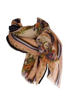 Sete di Jaipur - Textile Print Scarf by Sete di Jaipur - Accessories - designer dresses, online fashion, fashion dresses, Australian fashion, online designer clothes, ladies fashion online, evening dresses, cocktail dresses, wedding dress online, bridal dress, Alex Perry, Camilla kaftans, Manning Cartell, Moss and Spy, Bec and Bridge, Willow, Wayne Cooper, Sacha Drake, Rachel Gilbert, Maurie and Eve, Josh Goot, Dion Lee, Alice McCall