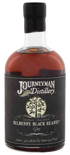 Journeyman Bilberry Black Hearts Aged Gin