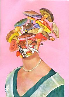 2017 on Ben Lewis Giles Arte Indie, Indie Art, Collage Kunst, Collage Art, Art Collages, Photo Wall Collage, Picture Wall, Arte Peculiar, Bd Art