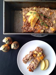 An autoimmune paleo, whole30 breakfast sausage recipe with butternut squash, apples, thyme and bacon. Because bacon makes everything better.