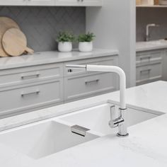 Double Bowl Undermount sink in cristadur finish by Schock
