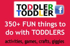 Toddler Toddler activities games crafts-  Jennifer has enjoyed doing crafts, painting, drawing with her son and  has shared her creative ideas with others on her website.  Well worth checking out!