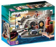 Playmobil Pirates, Prison, Magic Coins, Pirate Adventure, Action Figures, Castle, Games, Toys, Adventure Island