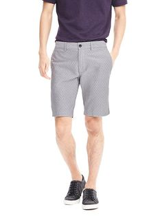 Aiden Printed Cotton Short | Banana Republic
