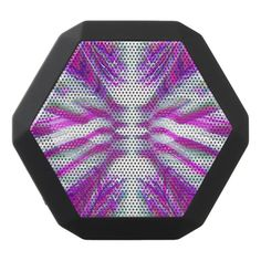 Purple psychedelic pattern