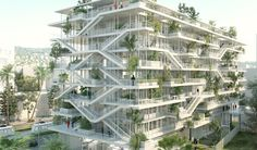 Экологичная девятиэтажка: в Ницце построят дом с деревьями на балконах - Москва сегодня