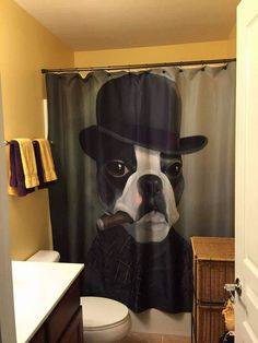 American Gentleman Shower Curtain