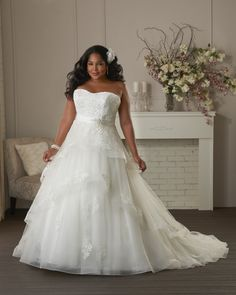 91 Best Plus Size Wedding Dresses images in 2019 | Plus size ...