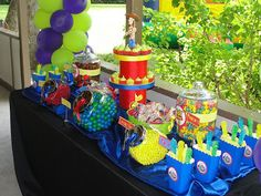You can BUY your Candy & Popcorn from our candy website: www.sweetdreamsgourmet.com   OH my!! Where do I start with this Candy Buffet. As...