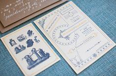 A Wedding Designed with Books: Annie + Will   Green Wedding Shoes Wedding Blog   Wedding Trends for Stylish + Creative Brides