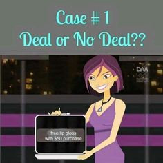 Deal or no Deal Younique style party game/ www.illegallengthsbycristina.com