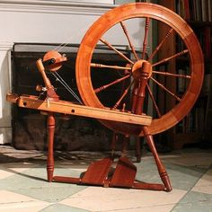 Lendrum Saxony Spinning Wheel Lendrum http://www.amazon.com/dp/B00115ZQMK/ref=cm_sw_r_pi_dp_3RO7tb0BCAYV5
