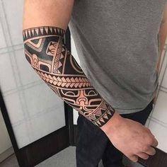 Resultado de imagem para erkek bilek maori dövmeler #polynesiantattoosforearm