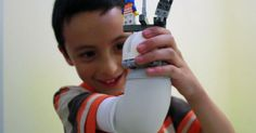 Swedish designer builds child a prosthetic arm from Lego #Health, #Lego, #News