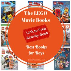 Best Books for Boys The Lego Movie Books. Turn movie love into reading love.
