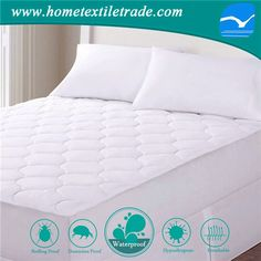 Best Er Bamboo Rayon Fiber Ultra Soft Waterproof Dust Mite Resistant Bpa Lead Free Crib Mattress