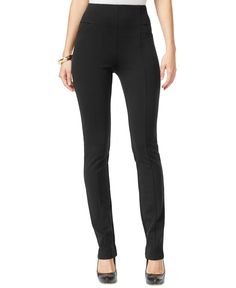 Inc International Concepts Pull-On Straight-Leg Pants, Only at Macy's