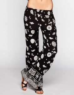 PATRONS OF PEACE Border Print Womens Beach Pants 243147100 | Pants | Tillys.com