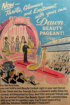 1971 Dawn Beauty Pageant by Topper Toys