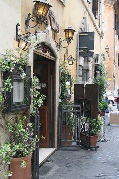 Via de Lungaretta Trastevere - Roma