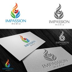 Design a logo for Impassion Media that reflects the passion and energy of our brand! Logo design #165 by Vagust Studio