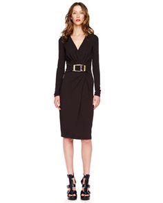 I love you Michael Kors - but $1995.00?  Really?   Michael Kors Buckled Wrap Dress