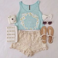 summer outfit | I LOVE this!  You can found this at => http://feedproxy.google.com/~r/amazingoutfits/~3/X-E1kutgTls/photo.php