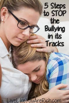 Great advice for parents:  5 effective steps that will stop bullying.  Unforgettable video as well.