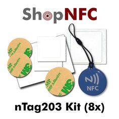 NFC nTag203 Kit http://j.mp/nTagKit