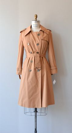 Bushell classic trench 1970s trench coat vintage by DearGolden
