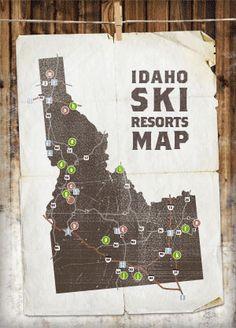 #Idaho Ski Resorts Map | Visitidaho.org