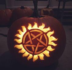 Supernatural pumpkin