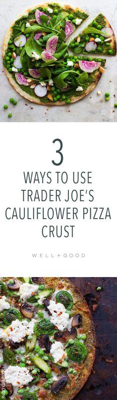 Trader Joe's Cauliflower Crust Pizza Recipes